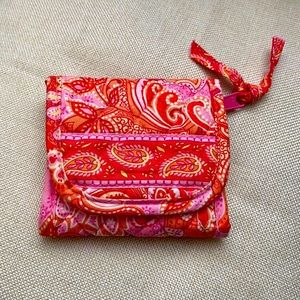 Vera Bradley Small Wallet Fold Up Card Holders